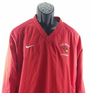 Nike Team U.S Grant Cardinals V-Neck Sweater Mens